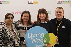 RBH employees during a previous Living Wage Week