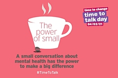 Time to Talk Day - A small conversation about mental health has the power to make a difference