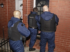 Warrants were executed on Friday (5 February) by officers from GMP Rochdale with support from neighbouring districts and the Tactical Aid Unit (TAU)
