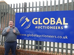 Global Auctioneers' Managing Director Marcel Duffy