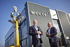 WCCTV CEO David Gilbertson on the left, and founder Tim Williams on the right