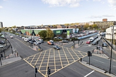 St Mary�s Retail Park in Rochdale
