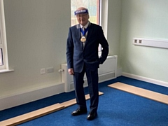 Mayor of Rochdale, Councillor Billy Sheerin, had a tour of a new extension at Castleton Community Primary School on 18 February