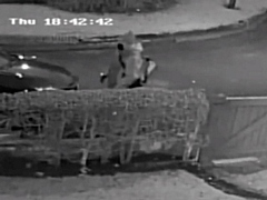 CCTV footage of the man police would like to speak to