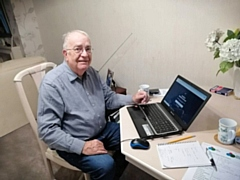Rochdale resident, Alan Reeves, has been attending the online classes with assistance from Link4Life and HMR Circle