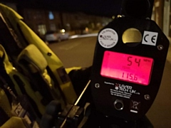 A speed sting caught several drivers exceeding the speed limit
