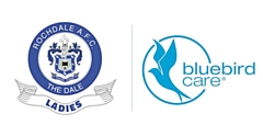 Bluebird Care Rochdale is the new main kit sponsor of Rochdale AFC Ladies