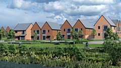 Vistry Partnerships has been selected by Homes England to build 171 homes at the former Akzo Nobel site