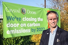 Richard Hagan, managing director of Crystal Doors