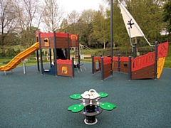 The new play area at Springfield Park is now open