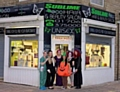 Staff at Sublime Eco Salon celebrating five years of business
