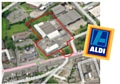 The proposed Aldi store will be located on Stockton Street, off Featherstall Road
